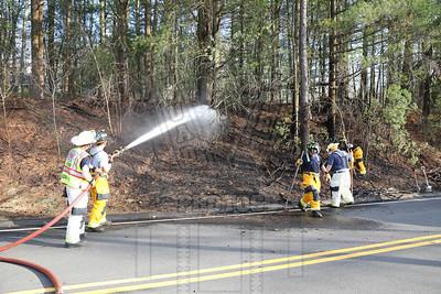 Vernon, Ct brush fire 4/16/17
