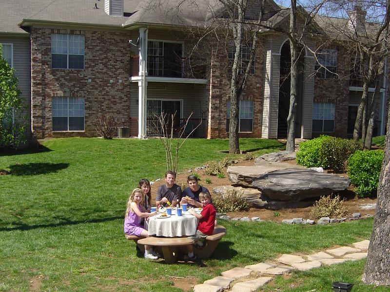 The beautfiul grounds at Sara & Peter's apartment. Picture taken by Sara .