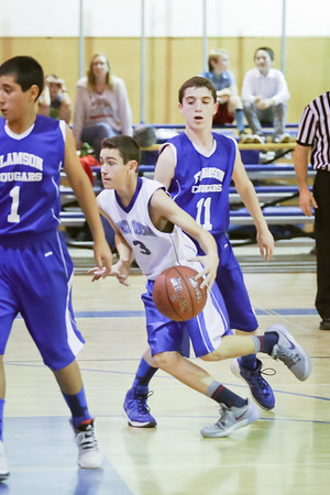 2016 Santa Lucia Middle School Basketball