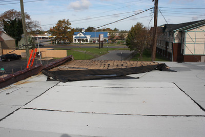 Warehouse Roof Damage