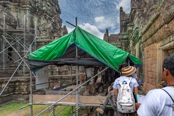 WHV Angkor - Stone Conservation