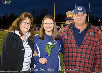 Senior Night Photos