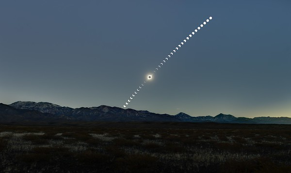 July 2nd, 2019 - Total Eclipse from Argentina