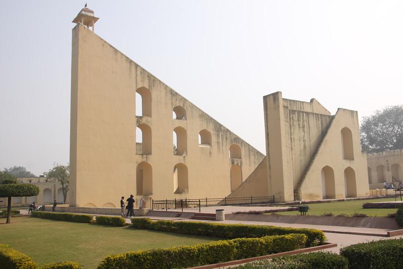 Jantar Mantar observatory from 1728