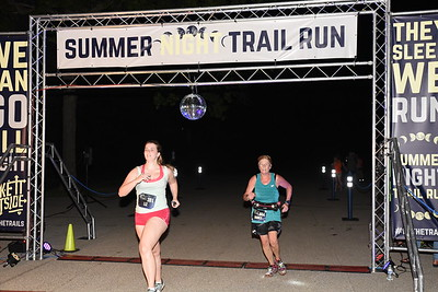 2019 Summer Night Trail Run Indiana