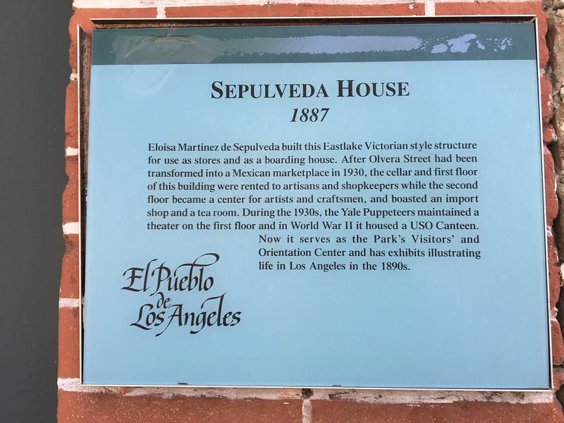 Sepulveda House 1887