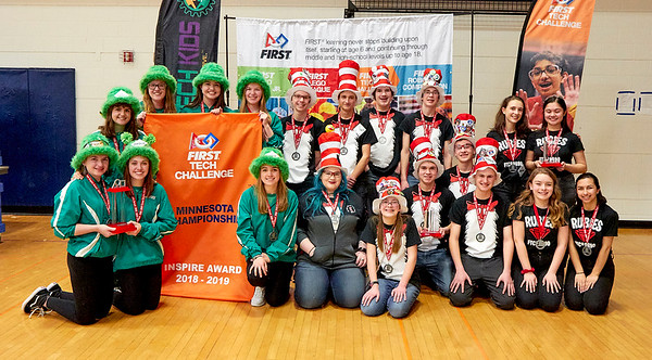 2018-2019 FTC State Championship