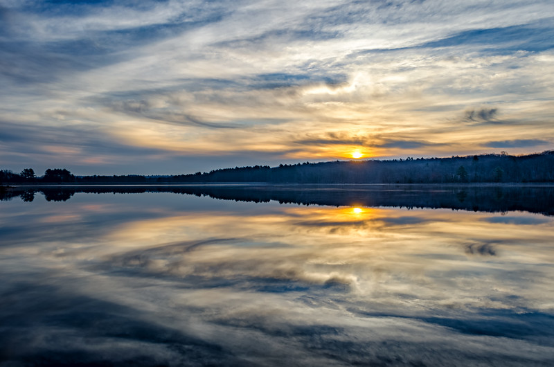 Hopkinton State Park - Sunire Cluuds Reflection- Tom Sloan.jpg