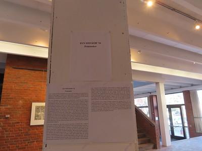 Eun Soo Koh '16 Print Exhibit - January 2020