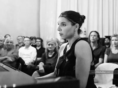 Lara Downes at Salle Pianos 10/14/2011