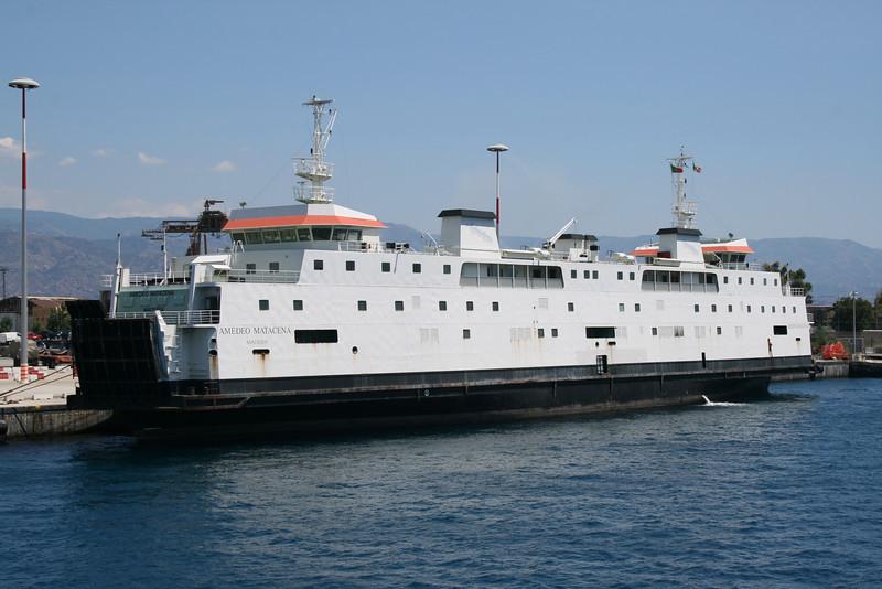 2010 - F/B AMEDEO MATACENA laid up in Messina.