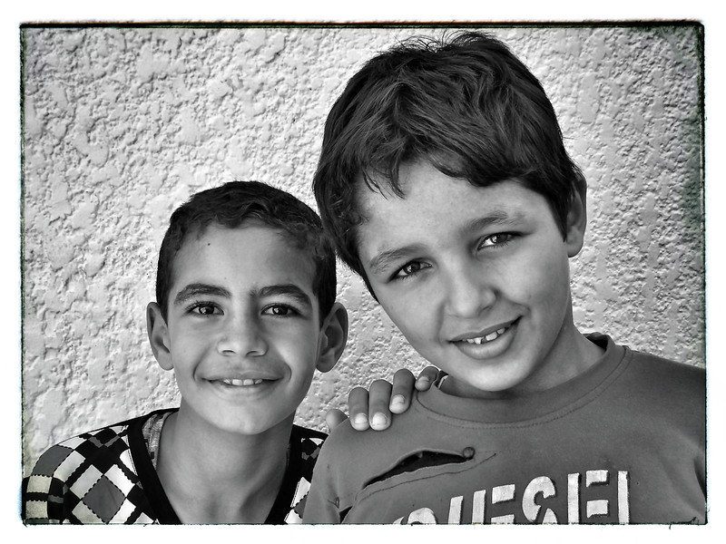 Egypt Boys-B&W.JPG