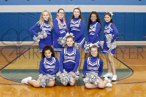 JH Winter Cheerleading