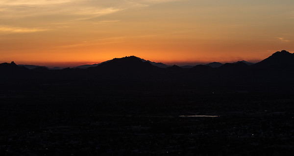 Smoke from Fire in Superstition Mnts 6-16-20