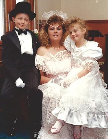 Walton Wedding (when Lynne married Glenn)