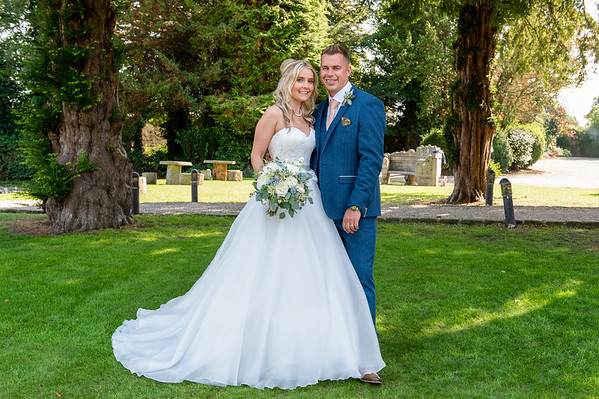 Gemma & Phillip at Mitton Hall, Clitheroe Lanc's