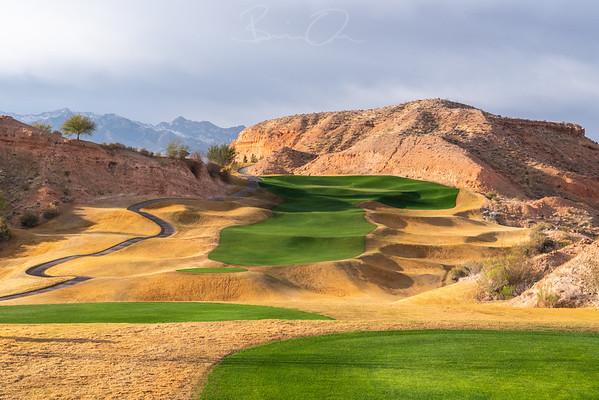 Falcon Ridge Golf Club Photography - Mesquite, Nevada