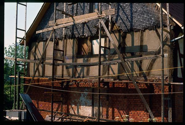 1979-1980 Nickelsmühle Restauration - unbearbeitet