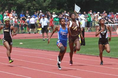 Girls 100m 200m