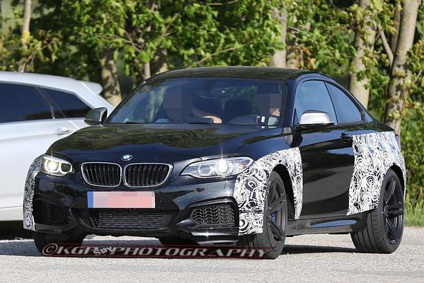 BMW M2 Mule Begins Testing