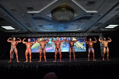 Men's Bodybuilding Masters 50+ LHW