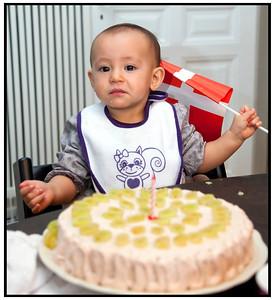 Tanjas Eva fylder 1 år 2012