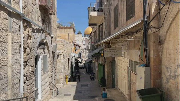Palestinian family in the Old city of Jerusalem suffer after Israel gives their home to Jewish settlers