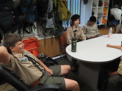 Troop Meeting - Sep 9