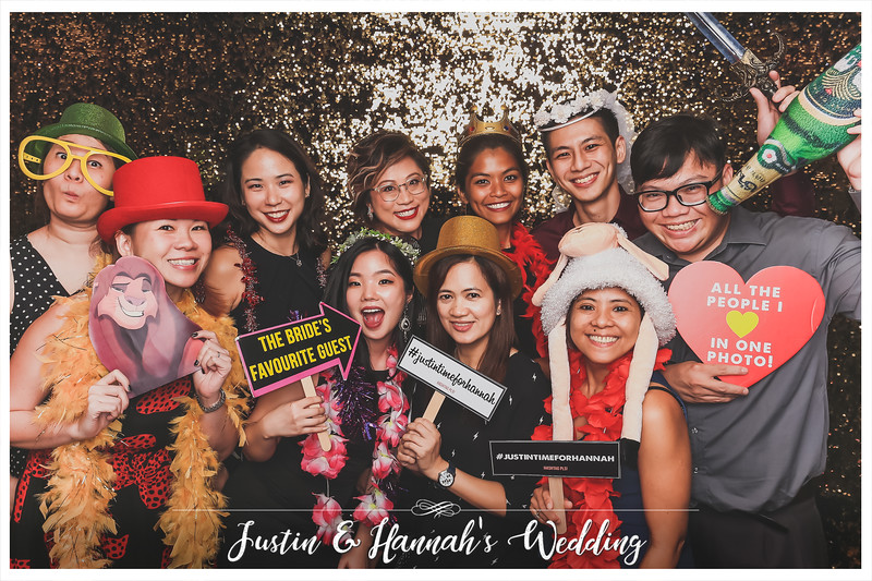 Wedding of Justin & Hannah | © www.SRSLYPhotobooth.sg