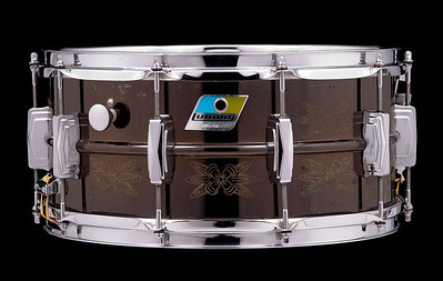 Ludwig B/O Engraved Black Beauty