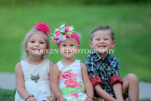 Chris, Myranda and family