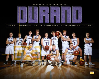 Durand boys basketball BBB1920