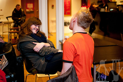 Spontankonsert med Arme Riddere, 23.03.2012