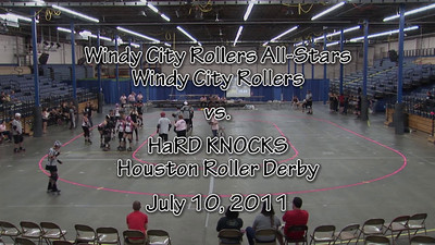 2011-07 Windy City Rollers All-Stars vs. HaRD KNOCKS