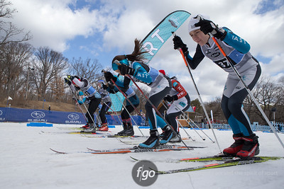 3-8-15 Midwest Junior Nordic Ski Championships at Wirth Park - Sunday events
