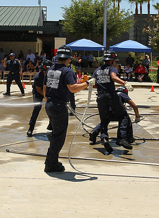 MULTI-AGENCY CADETS DEMONSTRATION