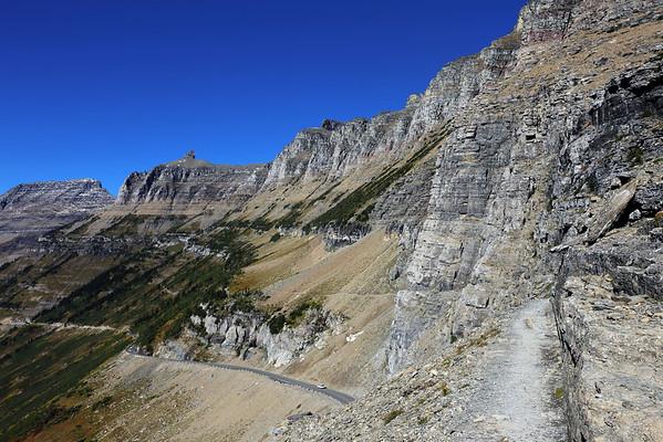 Glacier National Park - Logan Pass and West Side
