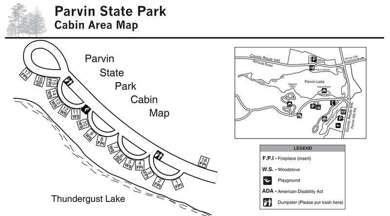 Parvin State Park (Cabin Area)