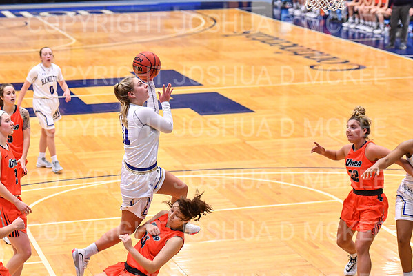 Hamilton Women's Basketball v Utica 12-9-19