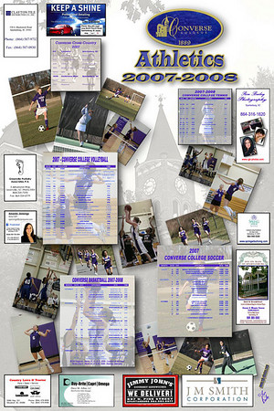 2007-2008 Poster Collage