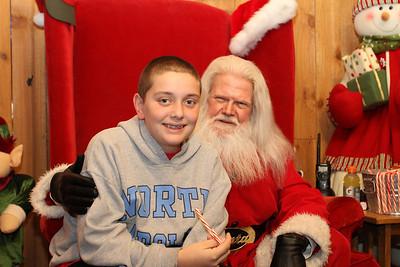 2012 Santa Visit