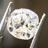 0.94ct Antique Cushion Cut Diamond GIA K Sl1 3