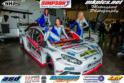 National Hot Rod Grid Girls & the Live Stage at MWA