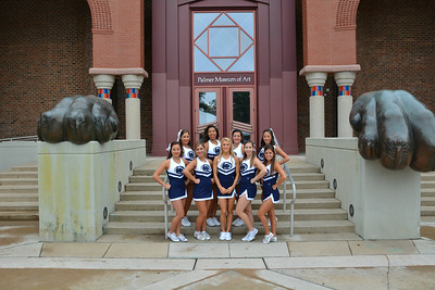 2014 cheerleader Sophomores