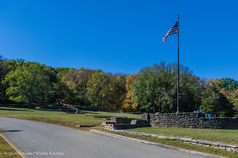 Entrance to Percy Warner Park