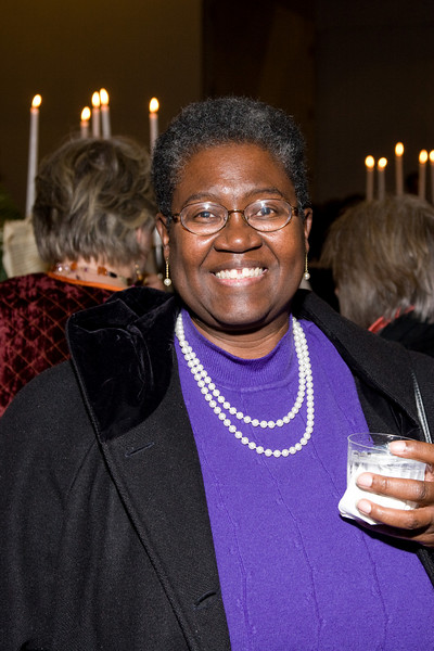 Jean Gover, HSO general manager circa 1987-90 -- HSO 25th anniversary post-concert Gala