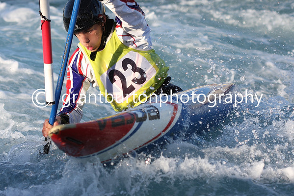 Final British Slalom Canoe Open 2013 - Mens Canadian MC1
