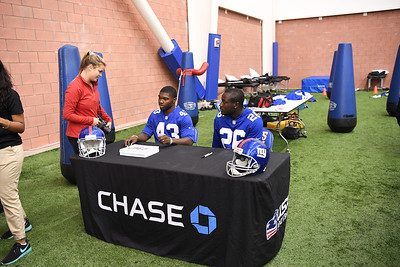 USA Football/New York Giants/Chase Youth Football Practice Event