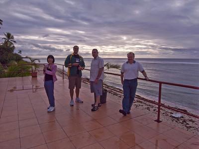 Mark's overseas work trips