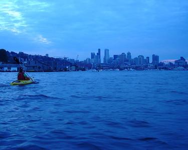 2007.10.15 Lake Union kayaking